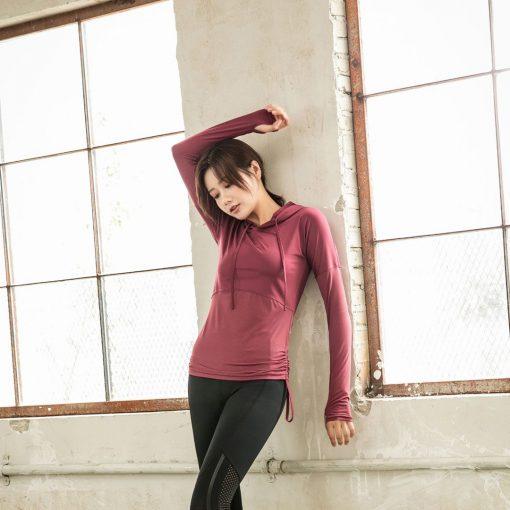 TBF Female Sports Jacket with Hand Sleeve 2