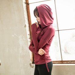 TBF Female Sports Jacket with Hand Sleeve 7