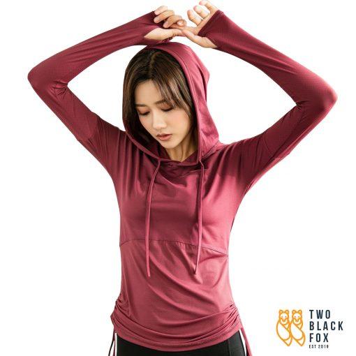 TBF Female Sports Jacket with Hand Sleeve, sports jacket, hoodie, sports hoodies, sportswear, hoodies for women, sports jacket women