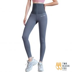 TBF Female Yoga Legging with Corset Grey
