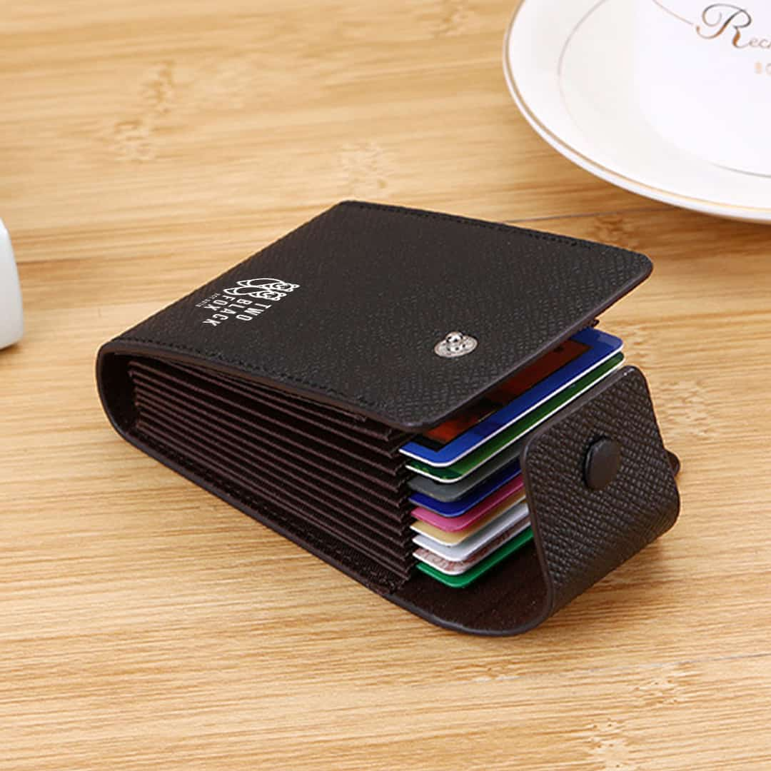 TBF Leather Wallet with Card Holder, safety, privacy, security, water-resistant, anti-tear, lightweight, small design, fashionable