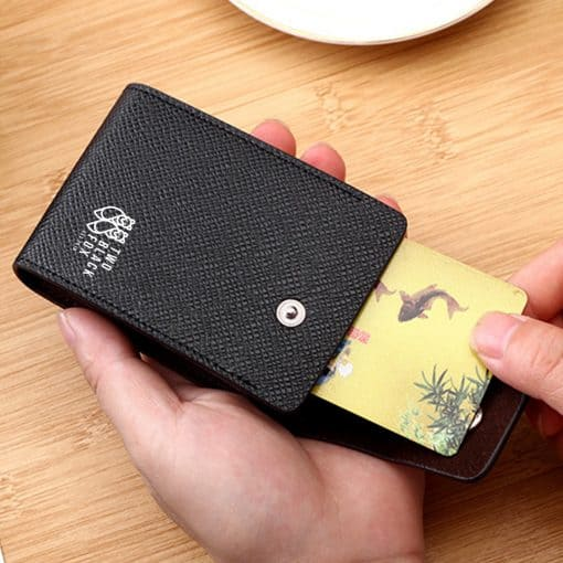TBF Leather Wallet with Card Holder 7