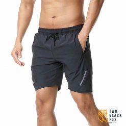 TBF Mens Quick Dry Sports Shorts Dark Grey