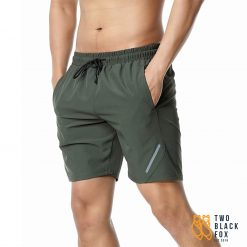 TBF Mens Quick Dry Sports Shorts Green
