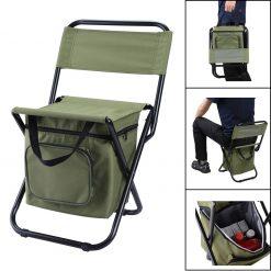 TBF Portable Fishing Chair with Storage Box 1