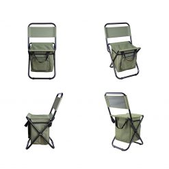 TBF Portable Fishing Chair with Storage Box 2