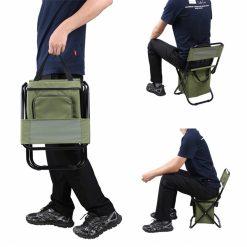 TBF Portable Fishing Chair with Storage Box 3