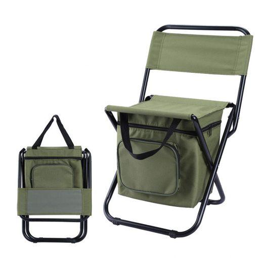 TBF Portable Fishing Chair with Storage Box 4