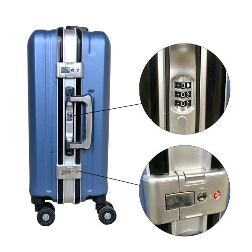 TBF Portable Travel Luggage with USB Charge 24 10