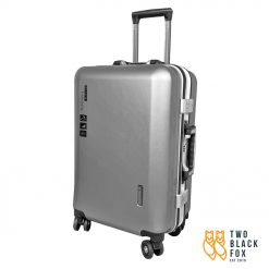TBF Portable Travel Luggage with USB Charge 24 Grey