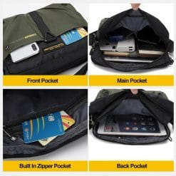 Tahan Oxford Multipurpose Sling Bag 9