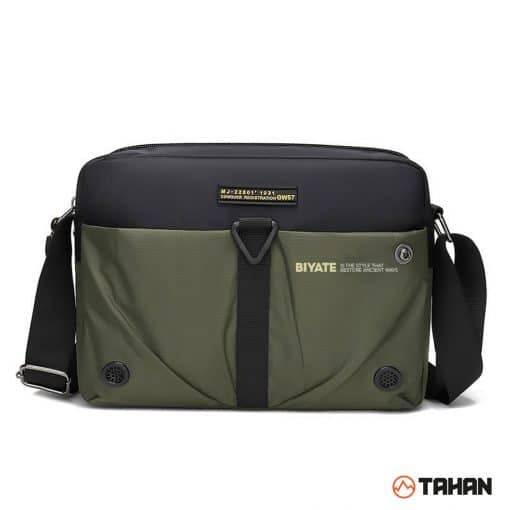 Tahan Oxford Multipurpose Sling Bag Dark Green
