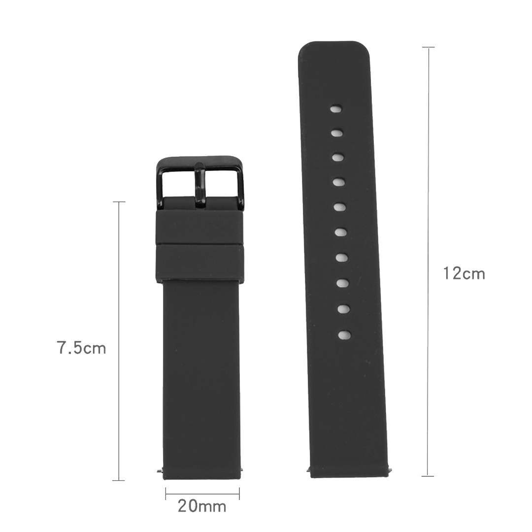 GARMIN/SAMSUNG/AMAZFIT Smartwatch Strap, silicone, comfortable and soft, 4 colors to choose, removeable, replacement, tali jam, lightweight, rubber, breathable, smartwatch, sport watch, digital