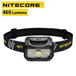 Original Nitecore NU35 Headlight CREE XP-G3 S3 LED 460 Lumens High Performance Rechargeable Headlamp Built-in Li-ion Battery