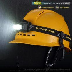 Original Nitecore NU35 Headlight CREE XP-G3 S3 LED 460 Lumens High Performance Rechargeable Headlamp Built-in Li-ion Battery