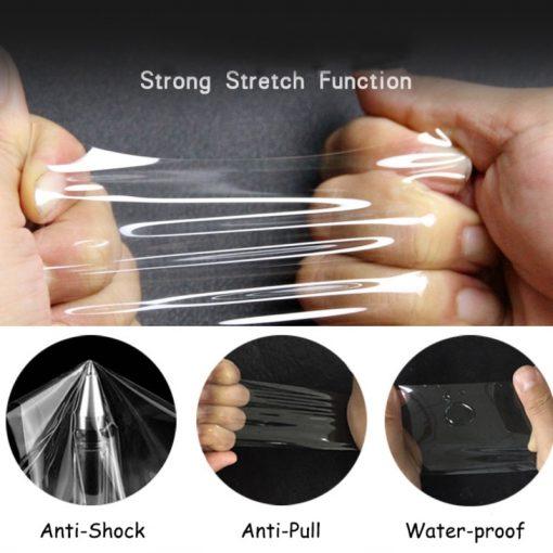 3Pcs Anti-Scratch TPU Film For Garmin Venu Sq VenuSq Smart Watch Hydrogel Unthin Soft Clear Full Screen Protector Film Not Glass