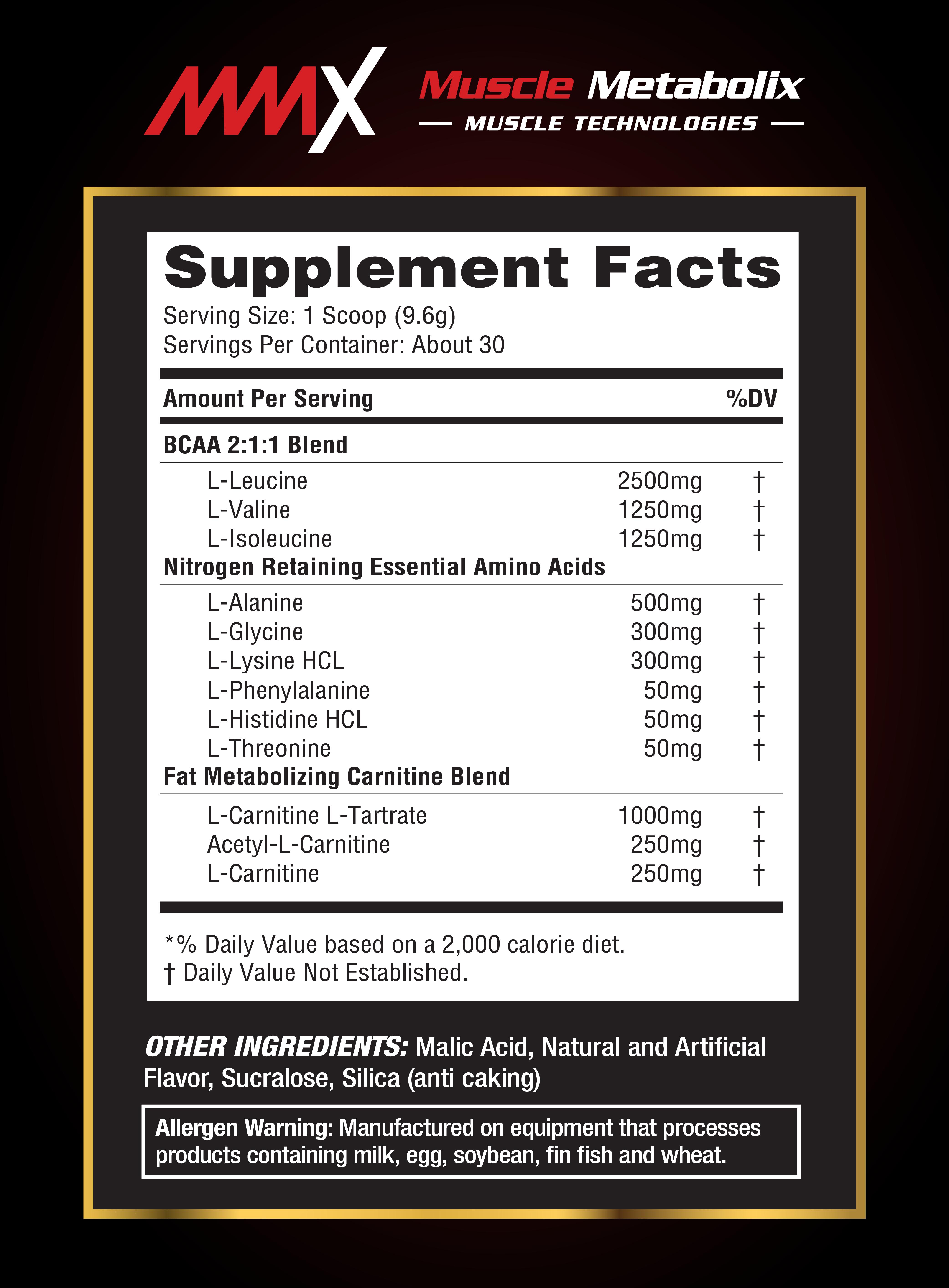 MMX Amino Shred, muscle, burn fat, kurus, slim, thin, body builder, gym, nutrition pro, supplement, sihat, improve energy, gymnast, cyclist, BCAA, kuat tiger, kuasa kuda