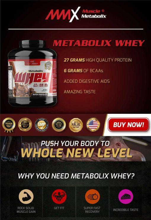 MMX Metabolix Whey Protein 3