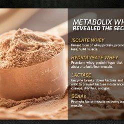 MMX Metabolix Whey Protein 4