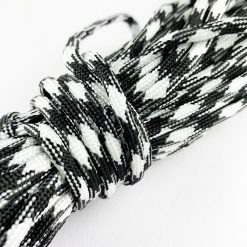 Multifunction Outdoor Paracord Black White 1