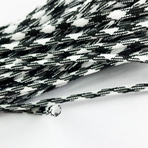 Multifunction Outdoor Paracord Black White 2