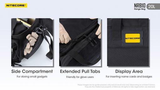 NITECORE NRB10 20L Multi Purpose Shoulder Bag 11