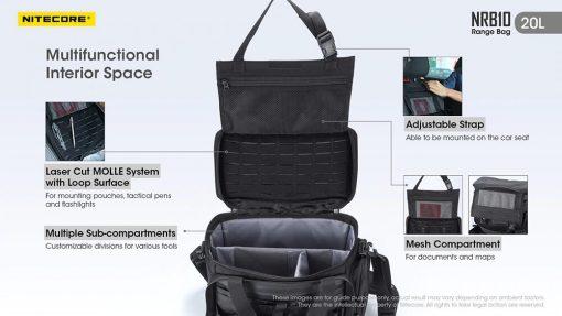 NITECORE NRB10 20L Multi Purpose Shoulder Bag 4