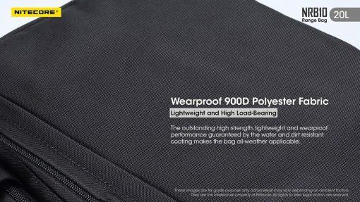 NITECORE NRB10 20L Multi Purpose Shoulder Bag 6