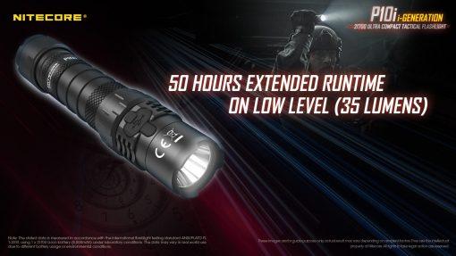 NITECORE P10i Rechargeable Flashlight 1