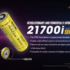NITECORE P10i Rechargeable Flashlight 11
