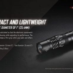 NITECORE P10i Rechargeable Flashlight 12
