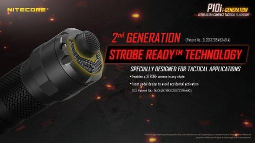 NITECORE P10i Rechargeable Flashlight 8
