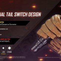 NITECORE P10i Rechargeable Flashlight 9