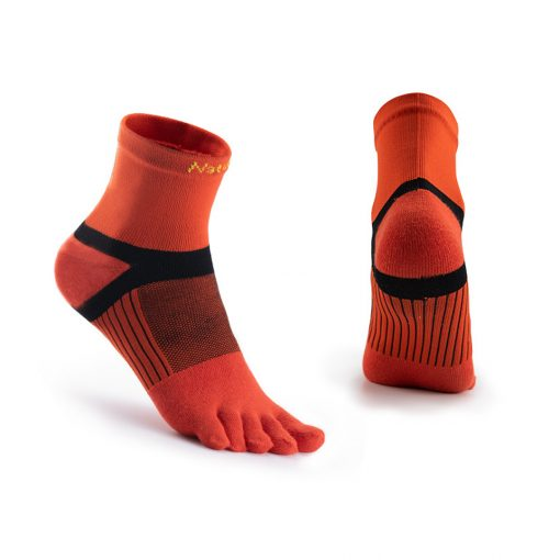 Naturehike Quick Dry Running Toe Socks Red