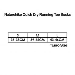Naturehike Quick Dry Running Toe Socks Size 2