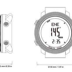 North Edge Apache Smartwatch 10