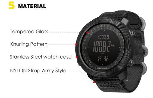 North Edge Apache Smartwatch 11