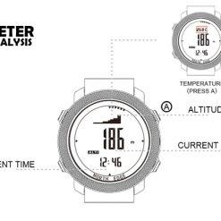 North Edge Apache Smartwatch 6
