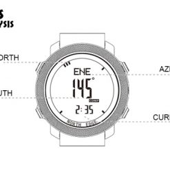 North Edge Apache Smartwatch 8