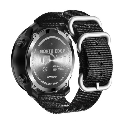 North Edge Apache Smartwatch Black 3