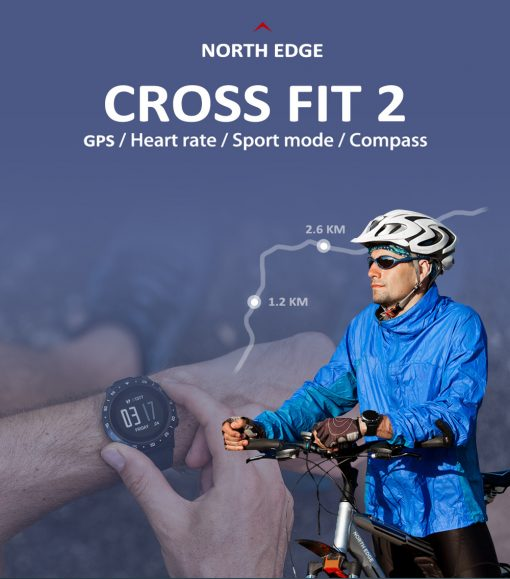 North Edge Cross Fit 2 Smartwatch 1 1