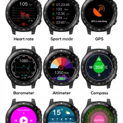 North Edge Cross Fit 2 Smartwatch 10
