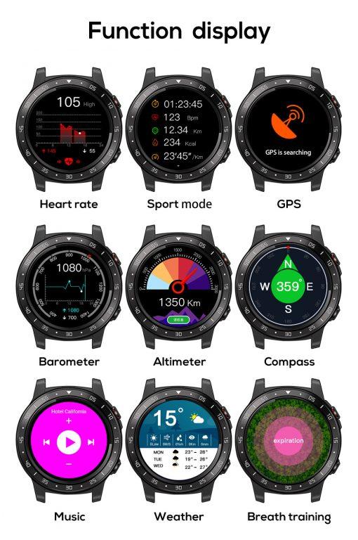 North Edge Cross Fit 2 Smartwatch 10