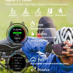 North Edge Cross Fit 2 Smartwatch 6