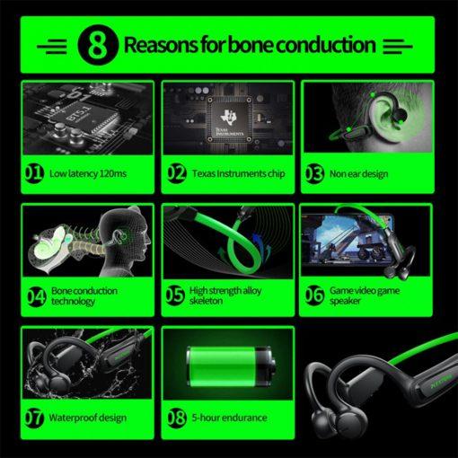 Plextone Boost 1 Bone Conduction Wireless Earphone 6