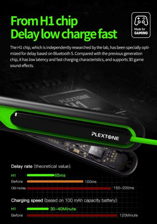 Plextone G2 Wireless Bluetooth Earphone 3
