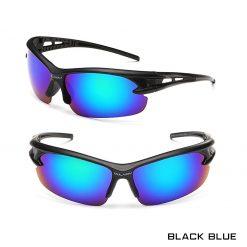 Robesbon Outdoor Sport Sunglasses Black Blue 1