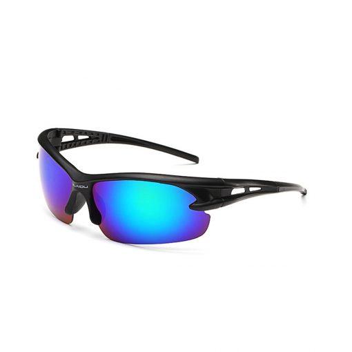 Robesbon Outdoor Sport Sunglasses Black Blue