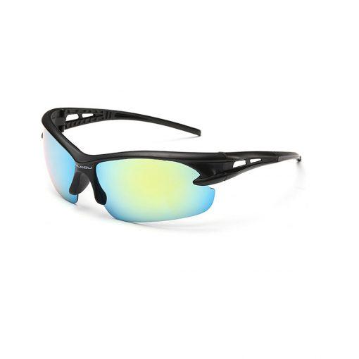 Robesbon Outdoor Sport Sunglasses Black Green
