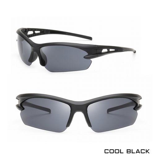 Robesbon Outdoor Sport Sunglasses Cool Black 1